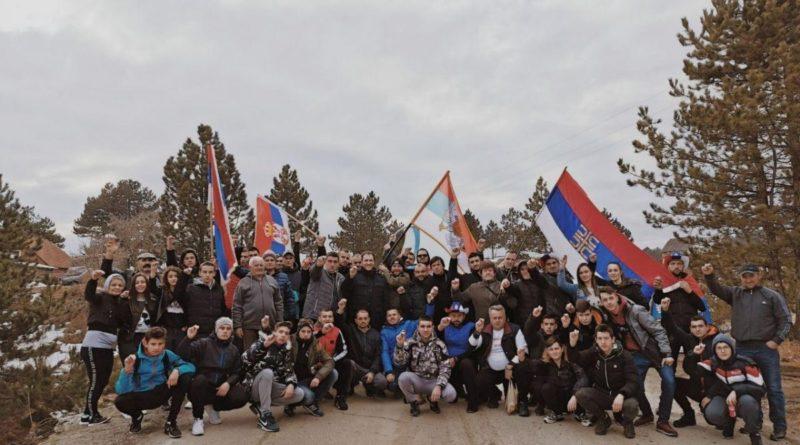 Ходочасници – хероји који су кренули пјешке из Београда, стигли до Црне Горе