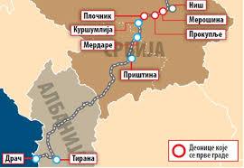 """Аутопут и железница НИШ – МЕРДАРЕ – ПРИШТИНА – лажни НАТО и """"великоалбански """"пут мира"""" – МИТАР КОВАЧ"""